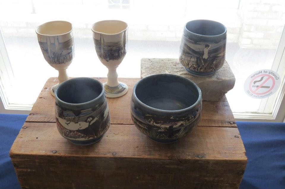 Stoneware Pottery by Chris Snedden