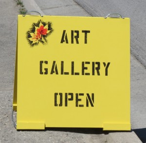 Art Gallery Open