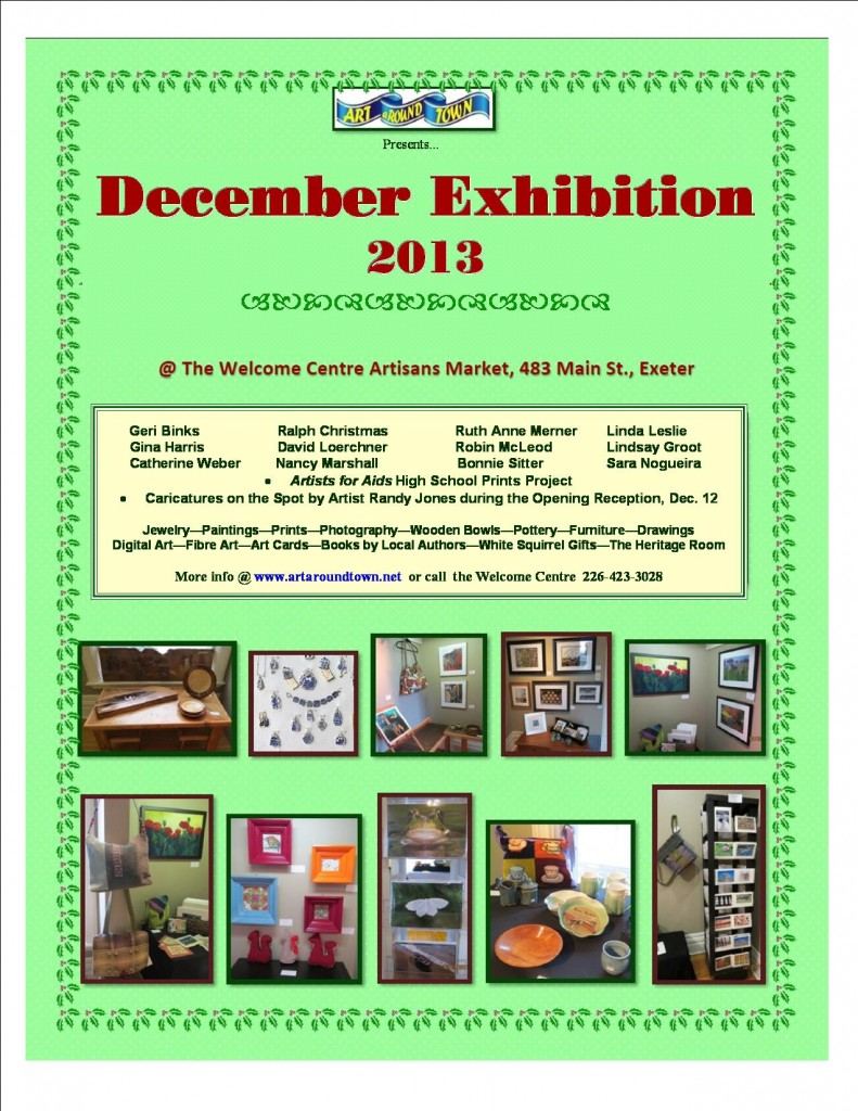 Dec Exhibition 2 2013