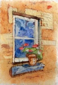 Batik Watercolour with Lynn Haygarth