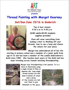 Express Yourself #1: Thread Painting @ Goderich