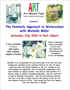 Express Yourself #2: The Painterly Approach to Watercolour @ Port Albert