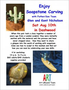 Express Yourself #3: Soapstone Carving @ Dashwood